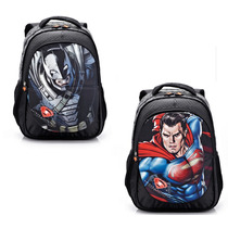 Mochila Infantil 2 Em 1 Batman E Superman Herois Frete Grati