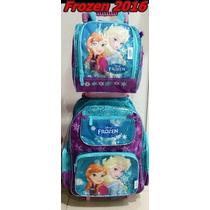 Mochila Infantil Frozen + Lancheira + Estojo - Chenson