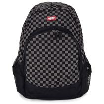 Mochila Vans Van Doren Backpack Checkerboard Black Charcoal