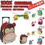 Kit Mochila/lancheira Skip Hop Zoo Original Pronta Entrega