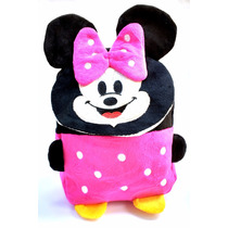 Mochila Minnie Mickey Personagem Disney Infantil Escolar