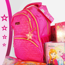 Mochila Feminina Planet Girl Escolar Adolescente Juvenil Top
