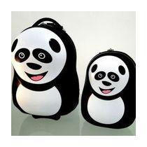 Conjunto De Mala E Mochila Panda - Zoobags