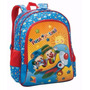 Mochila Infantil Alças P/ Costas Patati Patata Happy Flight