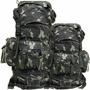 Mochila Pqdt 48 Litros Cor Camuflada Paraquedista Militar