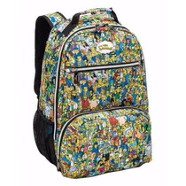Mochila Simpsons Family ( G ) - Costas
