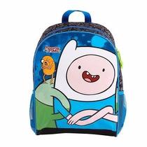 Mochila Escolar Adventure Time/ Hora De Aventura - Finn G