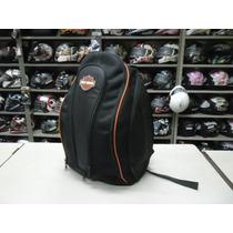 Mochila Harley Davidson Espaço Notebook K2 Couro & Cia.