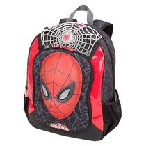 Mochila Infantil Alças Costas Spider Man Homem Aranha 16z
