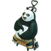 Mochila Escolar Mochilete 3d Kung Fu Panda + Lancheira