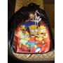 Mochila Simpsons - Original (couro / Emborrachada)