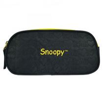 Estojo Snoopy   Cor: Preto - Et40157sn-2 - Catmania