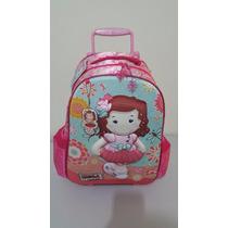 Mochila Escolar Infantil Risca 3d Original