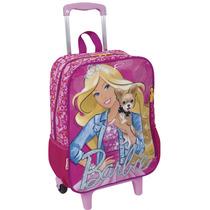 Mochilete Barbie G 16m | Rosa - 63844-00 - Catmania