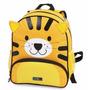Mochila Costa M Infantil Fofilhotes Tiger Amarelo - Dermiwil