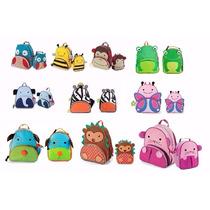 Kit Conjunto Mochila Infantil + Lancheira Skip Hop Zoo