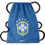 Saco Nike Seleção Brasil Cbf Brasileira Sacola Bolsa Mochila