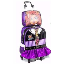 Kit Mochila Monster High Clawdeen Wolf + Lancheira