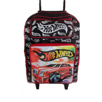 Mochila Escolar Personagen Infantil Com Rodinha Hot Wheels