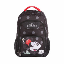 Mochila Escolar Costa G Minnie Vintage Disney + Nf