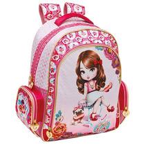 Mochila Escolar Tilibra Jolie Morena 595349 - Shop Tendtudo