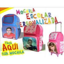 Mochila Personalizada Com Carrinho - A Nova Moda Nas Escolas