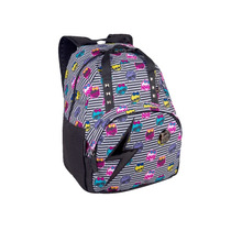 Mochila De Costas G Monster High Preto E Branco - Sestini