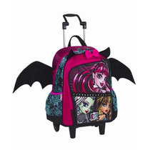 Mochila Grande Monster High 16z - Sestini