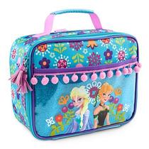 Lancheira Frozen Elsa E Ana Original Disney Store Nova!