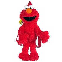 Plush Backpack Sesame Street Elmo Boneca Ss1000-4
