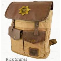 Backpack The Walking Dead Xerife Brown De Rick Twd-l107