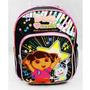 Mini-mochila Dora Aventureira Love Music - De21477-2