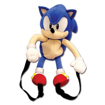Plush Backpack Sonic The Hedgehog 20-inch Plush Bag Ge5538