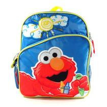 Pequeno Backpack Sesame Street Elmo Big Sun Escola 078335