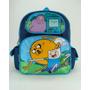 Pequena Mochila Adventure Time Funny Faces 630300