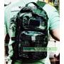 Mochila Tatica Militar Compartimentada Camuflada Exército Br