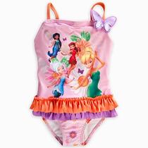 Maiô Sininho Tinker Bell Disney Baby Lançamento Tam 2anos