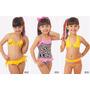 Maiô Biquini Infantil Barbie Praia Piscina Frozen Tamanho 2