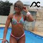 Bikini Fio Dental Conjunto Anna Carol Busto Com Bojo Fdv-18