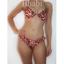 Biquini Bikini Bojo Bolha Calcinha Babado Pronta Entrega
