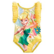 Maio Praia Piscina Sininho Tinker Bell Disney Store 5/6