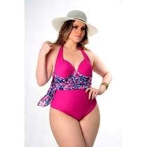 Maios Plus Size 2 Em 1 Com Saida De Praia