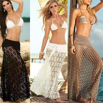 Saída De Praia Sexy Muito Linda Frete Grátis
