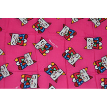 Lançamento Canga Original Romero Britto - Cat (pink)