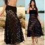 Saia Canga Saída De Praia Vestido Roupas Femininas Moda 2016