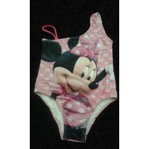 Maiô Biquini Minnie Mouse Disney Infantil Criança Tamanho 6