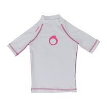 Camisa Proteção Solar Infantil Menina Fps 50+ Anti Areia
