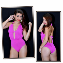 Maiô Miss Com Bojo Guarujá Biquínis Ref.14310 Cor Pink