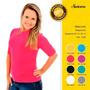 Kit 3 Camisas Com Proteção Solar Adulto E Infantil