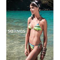 Biquini Salinas Bardot Colorido - P